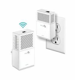 TP-Link AV1000Mbps Powerline WiFi Extender, Powerline Adapte