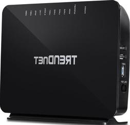 TREND net TEW-816DRM 200 Mbps AC750 Wireless Modem Router