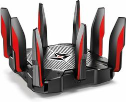 Tri Band Gaming Router Quad Core 64 Bit CPU works with Alexa