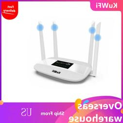 KuWFi 300Mbps 4G CPE Wireless Router with SIM Card Solt with