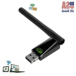 usb wifi router adapter w rotatable antenna