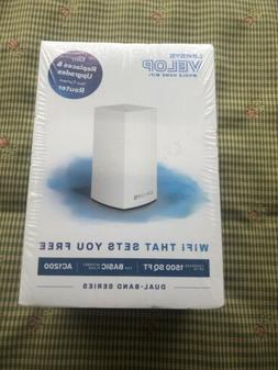 Linksys Velop VLP0101 AC1200 Dual Band Router Whole Home WiF