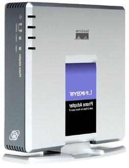 Linksys VolP Voice Phone Adapter Model No. PAP2-VN for Veriz