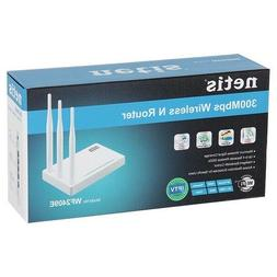 NEW SEAL--Netis WF2409E 300Mbps Wireless N Router w/4-port L