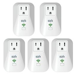 KMC WiFi Mini Smart Plug with Energy Monitoring and Schedule