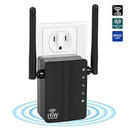 WiFi Range Extender ,300Mbps 2.4G WiFi Repeater Wireless Si