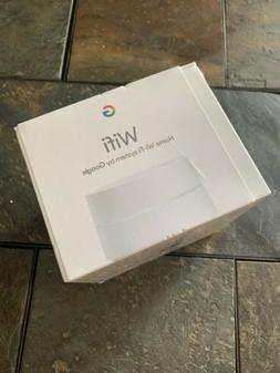 Google WiFi Router w/ 1500 sq.ft. Coverage in White