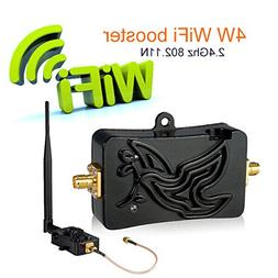 WiFi Signal Booster 2.4Ghz 4W 802.11 Signal Extender WiFi Re
