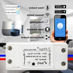 Wifi Switch,Z-Roya Smart WiFi Wireless Switch Remote Control