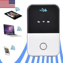 Wireless 4G LTE Wifi Router Portable Unlocked Car Mobile Hot