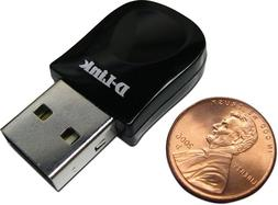 D-Link Wireless N-300 Mbps USB Wi-Fi Network Adapter