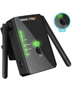 OptiCover Wireless N300 WiFi Repeater Booster Extender Route