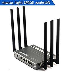 Wireless Wi-Fi Router , jomoq High Power Megabit Router with