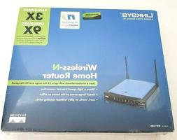 Linksys WRT150N Wireless N Home Router NEW SEALED 9x 3x